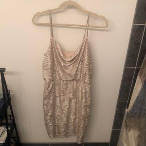 "Nordstrom ""Laundry"" Gold Dress"